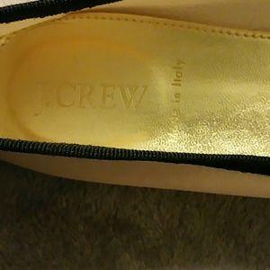 J. Crew Shoes - J. Crew Kiki Canvas Ballet Flat Size 8-1/2